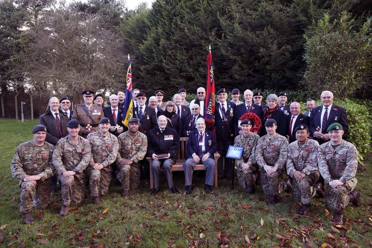 "Featured image for ""Remembrance Sunday: memory of fundraising soldier honoured"""