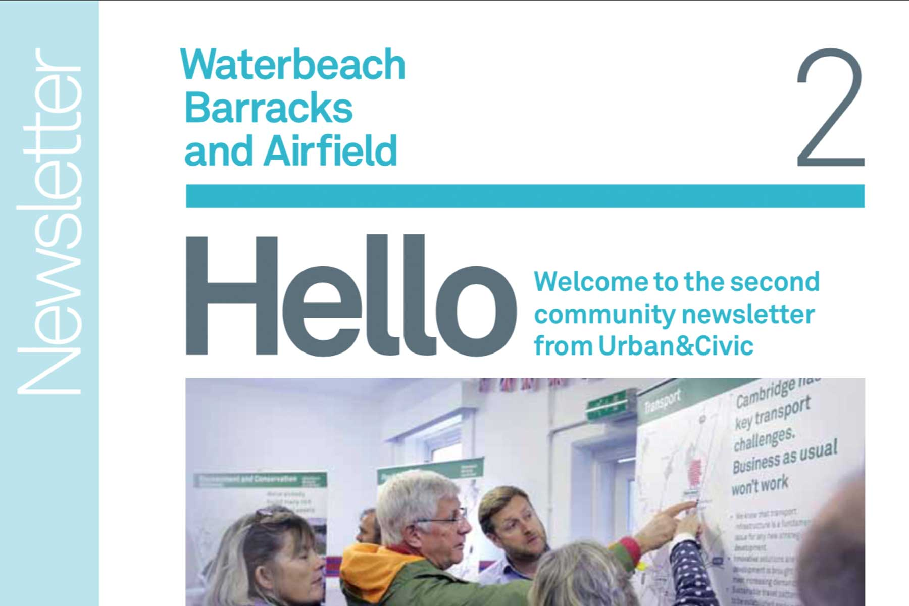"""Featured image for """"Waterbeach Barracks Newsletter Winter 2015"""""""