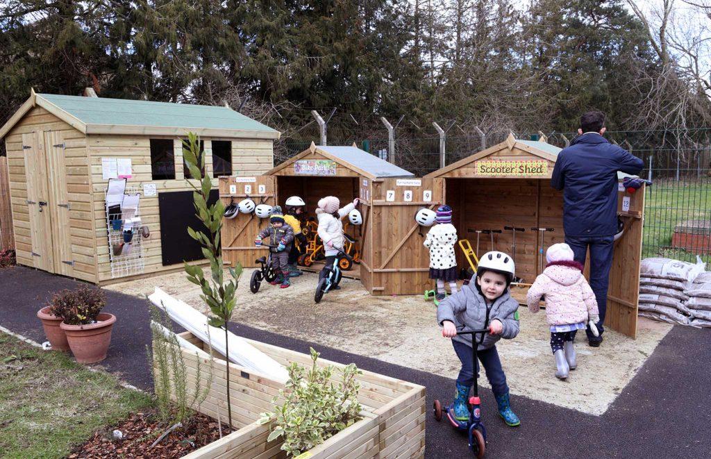 playgroup garden at waterbeach barracks