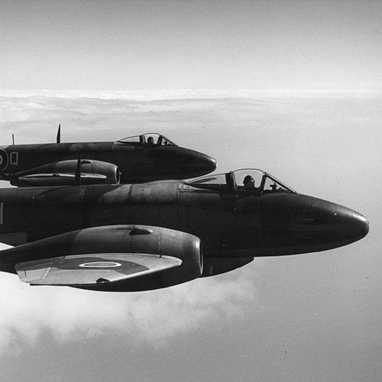 RAF Meteor jets