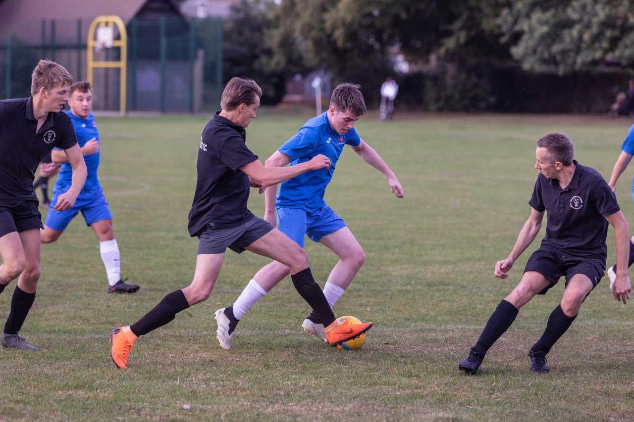 Charity football match at Waterbeach Barracks